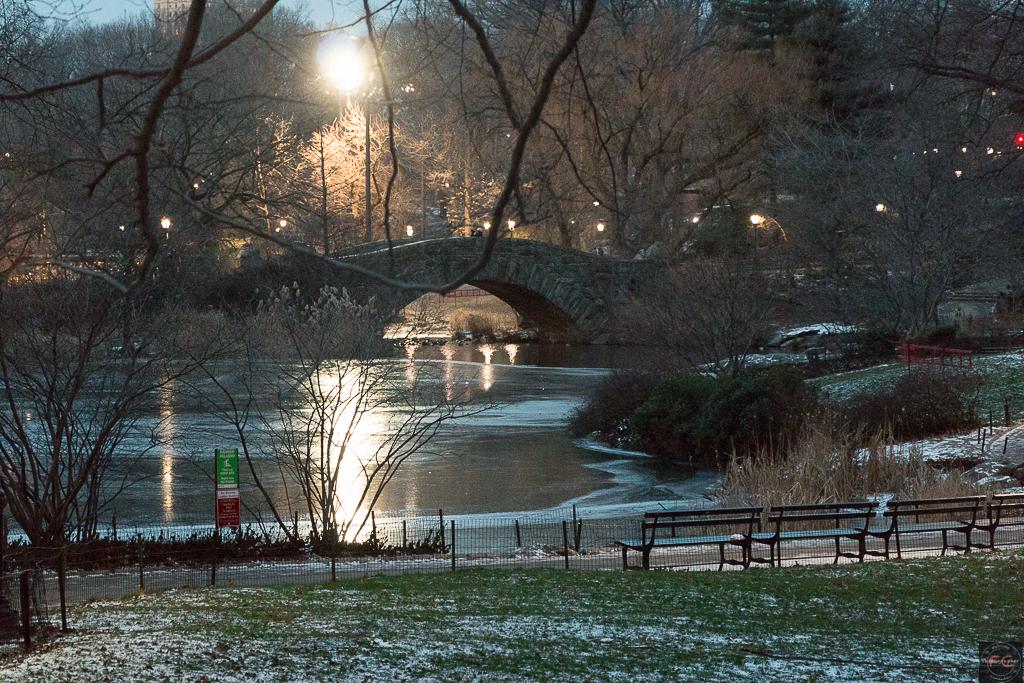 Central Park al primo buio